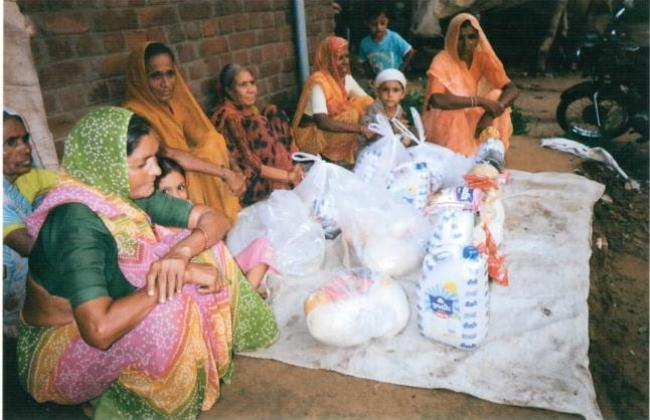 Relief to widows and poor